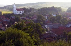 Arbre de Joie, Vue sur Purcareni au coeur de la Transylvanie